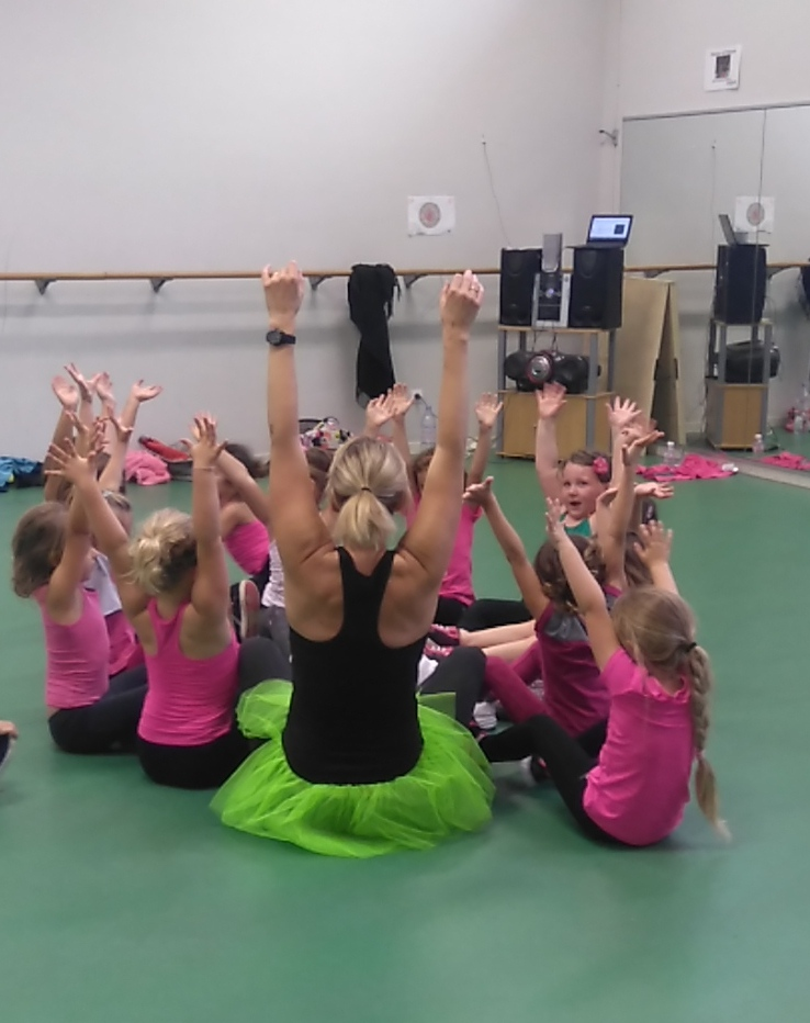 cours kids zumba colleville